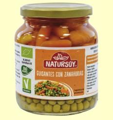 Guisantes con Zanahorias - Natursoy - 350 gramos