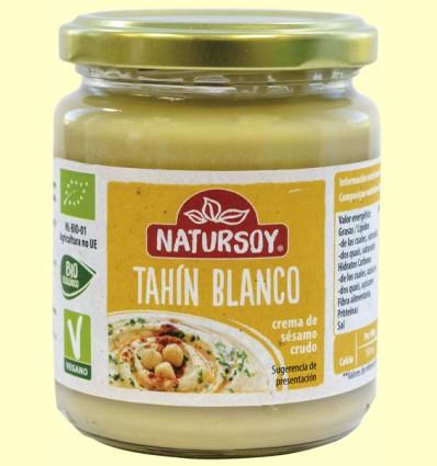 Tahín Blanco Bio - Natursoy - 250 gramos