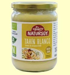 Tahín Blanco Bio - Natursoy - 500 gramos