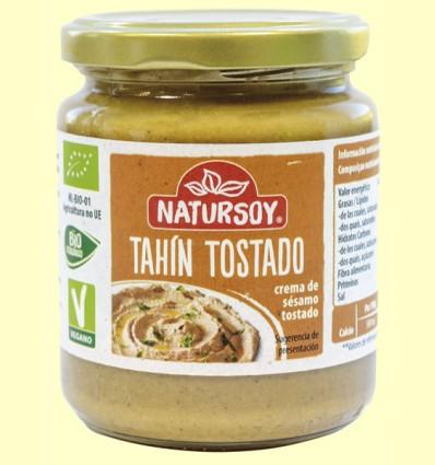 Tahín Tostado Bio - Natursoy - 250 gramos