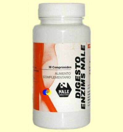 Digestoenzims Nale - Digestiones - Nale Laboratorios - 30 comprimidos *