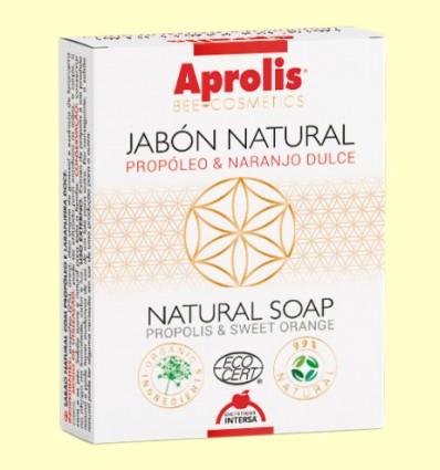 Aprolis Jabón Natural Propóleo Naranjo Bio - Intersa - 100 gramos