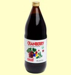 Zumo de arándano rojo ecológico - Plantis - 1 litro *