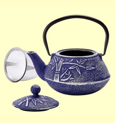 Tetera de Hierro Huan Azul - Cha Cult - 750 ml