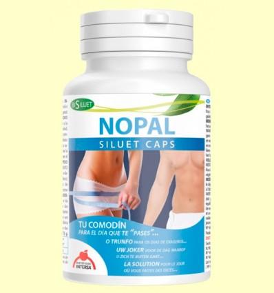 Bisiluet Nopal - Atrapa Grasas - Intersa - 80 cápsulas