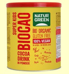 Biocao Super Kids Bio - NaturGreen - 400 gramos