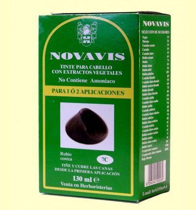 Tinte de Cabello - Rubio Ceniza 135 ml - Novavis