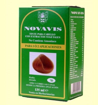 Tinte de Cabello - Rubio Dorado 135 ml - Novavis