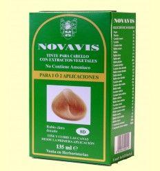 Tinte de Cabello - Rubio Claro Dorado 135 ml - Novavis