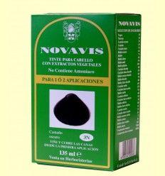 Tinte de Cabello - Castaño Oscuro 135 ml - Novavis