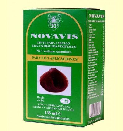 Tinte de Cabello - Rubio Caoba 135 ml - Novavis