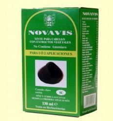 Tinte de Cabello - Castaño Claro Ceniza 135 ml - Novavis