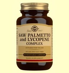 Sabal y Licopeno Complex - Solgar - 50 cápsulas vegetales