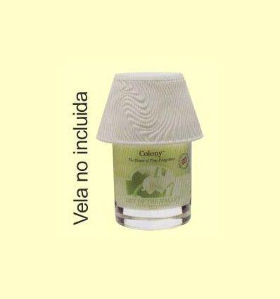 Lámpara para Vela Large Lamp Shade Swril Lines Effect - Colony - 1 unidad