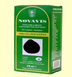 Tinte de Cabello - Castaño Dorado 135 ml - Novavis
