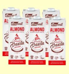 Bebida de Almendra Barista Bio - EcoMil - Pack 6 x 1 litro