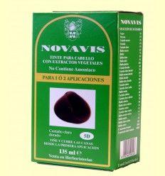 Tinte de Cabello - Castaño Claro Dorado - Novavis - 135 ml