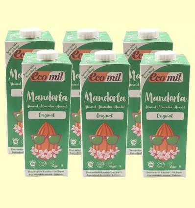 Almond Mandorla Original Bio - EcoMil - Pack 6 x 1 litro