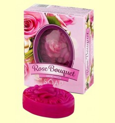 Jabón Glicerina en forma de ramo - Biofresh Rose Bouquet - 50 gramos