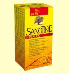 Tinte Sanotint Reflex - Negro 51 - Sanotint - 80 ml