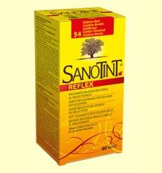Tinte Sanotint Reflex - Castaño Dorado 54 - Sanotint - 80 ml