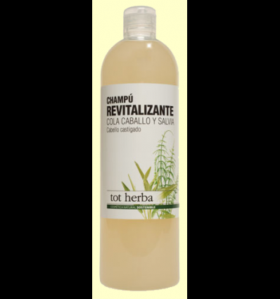 Champú Revitalizante - Cola caballo y salvia - Tot herba - 500 ml
