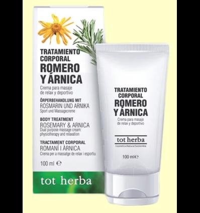 Tratamiento corporal Romero y Árnica - Tot Herba - 100 ml