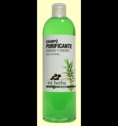 Champú Anticaspa Purificante de Romero y Enebro - Tot herba - 500 ml