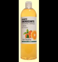 Champú Energizante de Mandarina y Naranja - Tot Herba - 500 ml