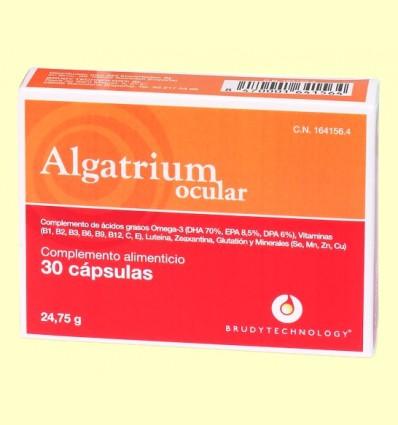 Algatrium Ocular - Brudy Technology - 30 cápsulas