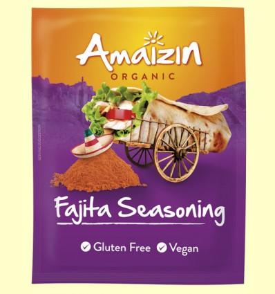 Mezcla de Condimentos para Fajita Bio - Amaizin - 27 gramos