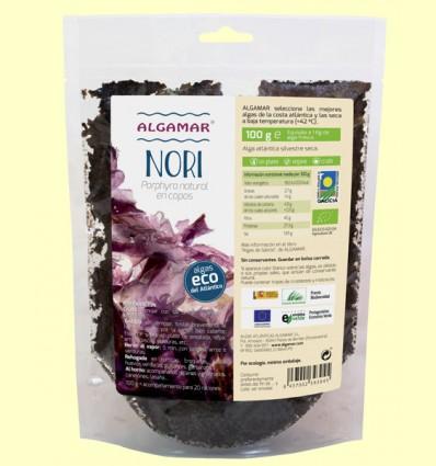 Alga Nori Bio - Algamar - 100 gramos