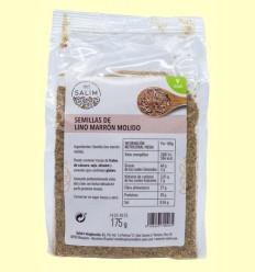 Semillas de Lino Marrón Molido - Int-Salim - 175 gramos