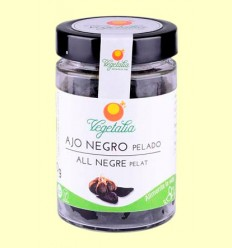 Ajo Negro Pelado Bio - Vegetalia - 200 gramos