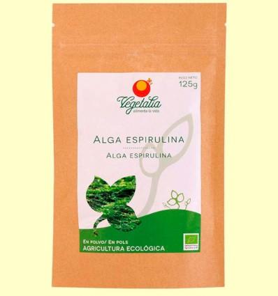 Alga Espirulina Bio en Polvo - Vegetalia - 125 gramos