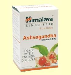 Ashvagandha - Withania somnifera - Himalaya Herbals - 60 cápsulas