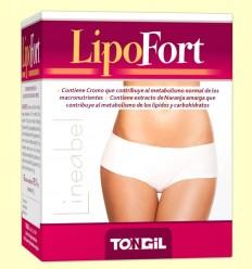 Lipofort - Quema grasas - Tongil - 60 cápsulas