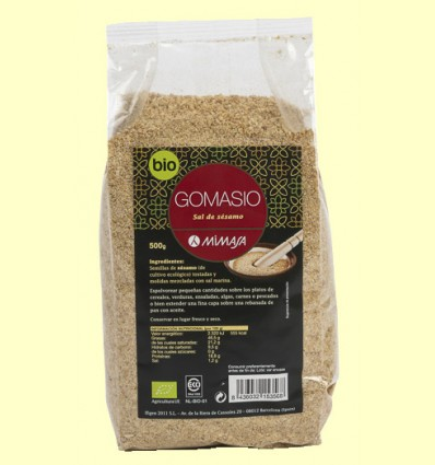 Gomasio Ecológico - Mimasa - 500 gramos