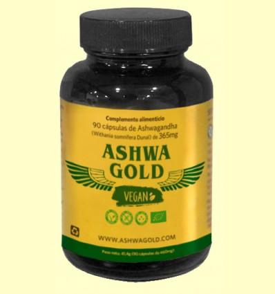 Ashwa Gold Vegan - Serpenslabs - 90 cápsulas