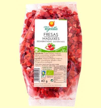 Fresas Liofilizadas Bio - Vegetalia - 40 gramos
