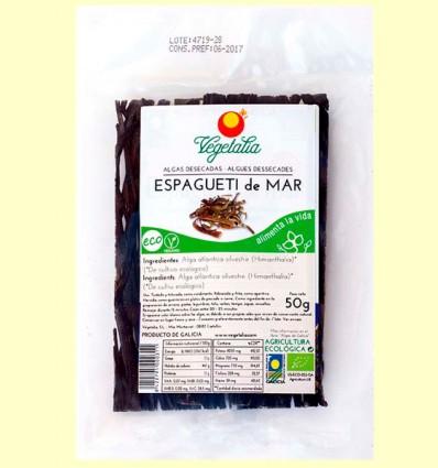 Espagueti de Mar - Alga Atlántica Silvestre - Vegetalia - 50 gramos
