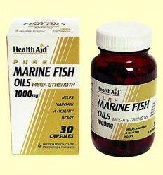 Aceites de Pescado 1000 mg - Health Aid - 30 cápsulas