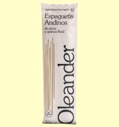 Espaguetis Andinos de Arroz y Quinoa - Oleander - 250 gramos