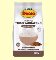 Harina de Trigo Sarraceno - Naturdacsa - 500 gramos