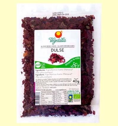 Alga Dulse Eco - Vegetalia - 40 gramos
