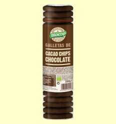 Galletas de Cacao y Chips Chocolate Bio - Biocop - 250 gramos