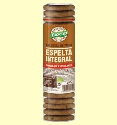 Galletas de Trigo de Espelta Chocolate y Avellanas Bio - Biocop - 250 gramos