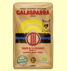 Arroz Integral Calasparra Bio - Biocop - 1 kg