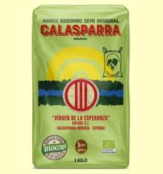 Arroz Semi Integral Calasparra Bio - Biocop - 1 kg