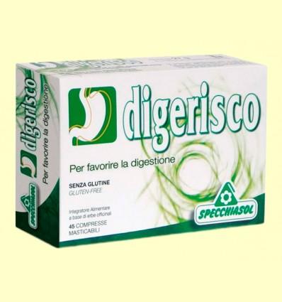 Digerisco - Favorece la Función Digestiva - Specchiasol - 45 comprimidos